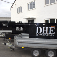 Link to Generator hire on dhepower.co.uk